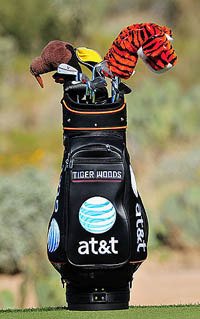 Tiger Woods Golf Bag