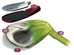 Wilson Di9 Iron Breakaway Look