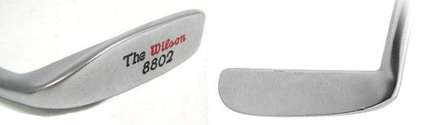 The WIlson 8802 Putter