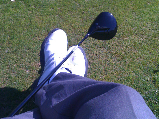 Out on the course with the Cobra S2 Driver